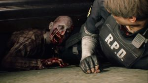 Screenshot di RE2 (2019)